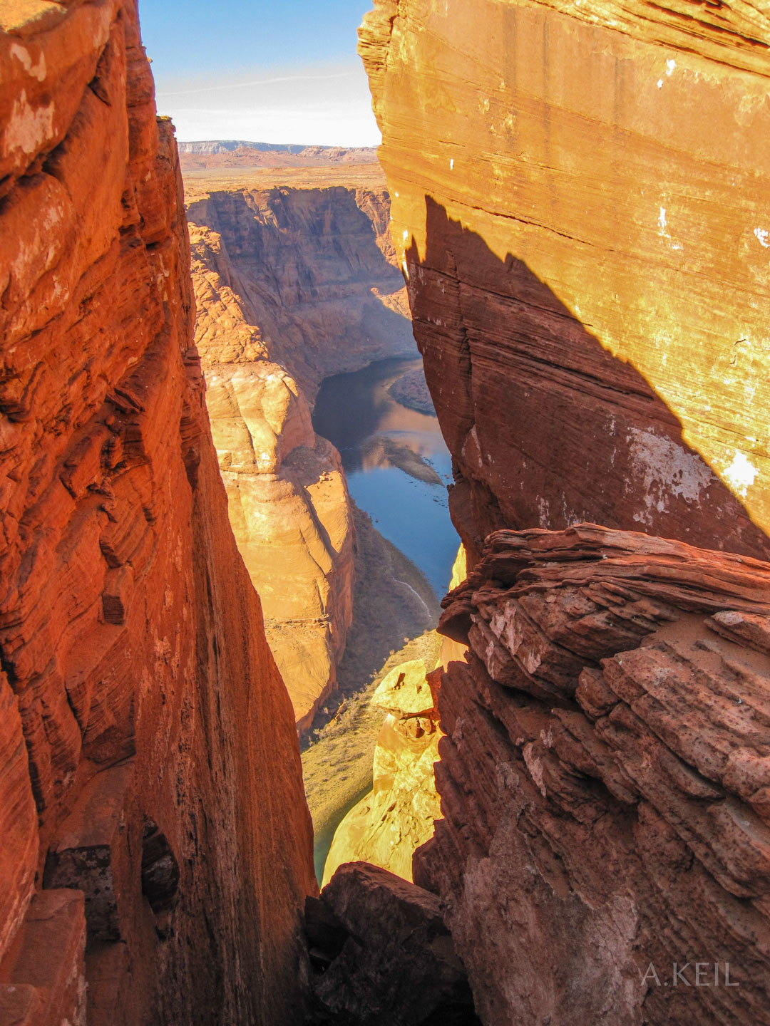 Horseshoe Bend in Arizona #20100117-0566