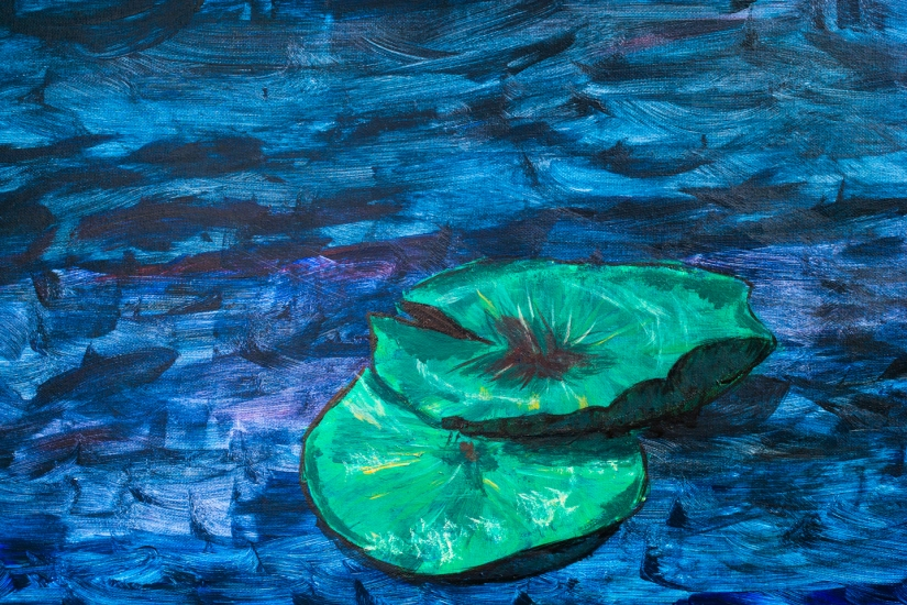 Painting Water Lilies and Breaking the Space-time Continuum.Related?