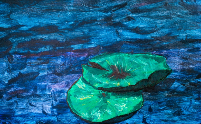 Painting Water Lilies and Breaking the Space-time Continuum. Related?