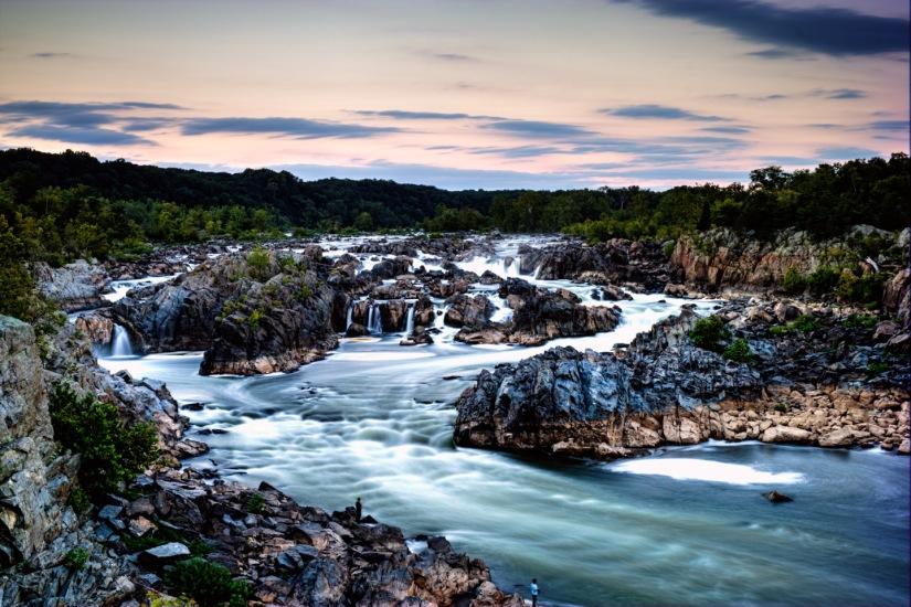 Great Falls, VA atSunset